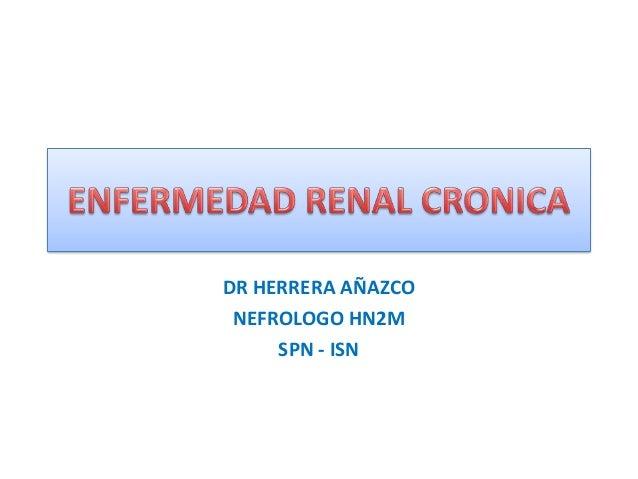 DR HERRERA AÑAZCONEFROLOGO HN2MSPN - ISN