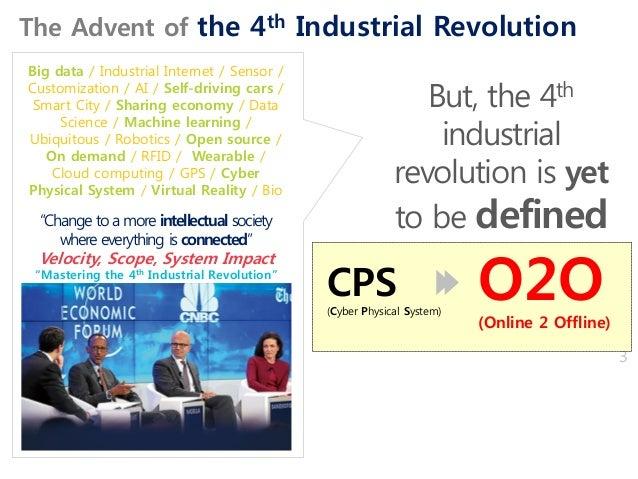 "3 ""Mastering the 4th Industrial Revolution"" Big data / Industrial Internet / Sensor / Customization / AI / Self-driving ca..."
