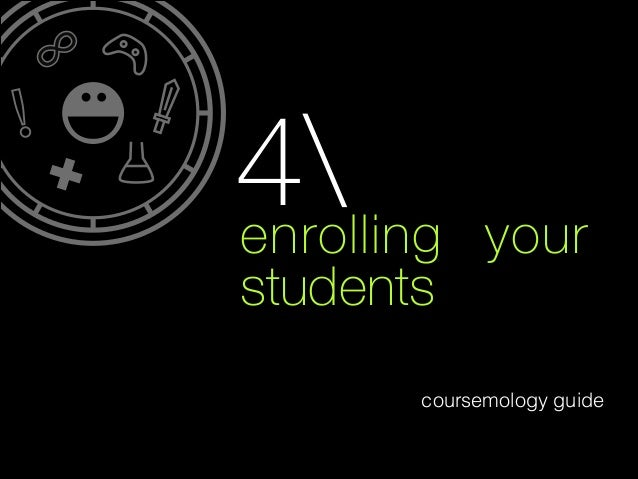 4 enrolling  your  students coursemology guide