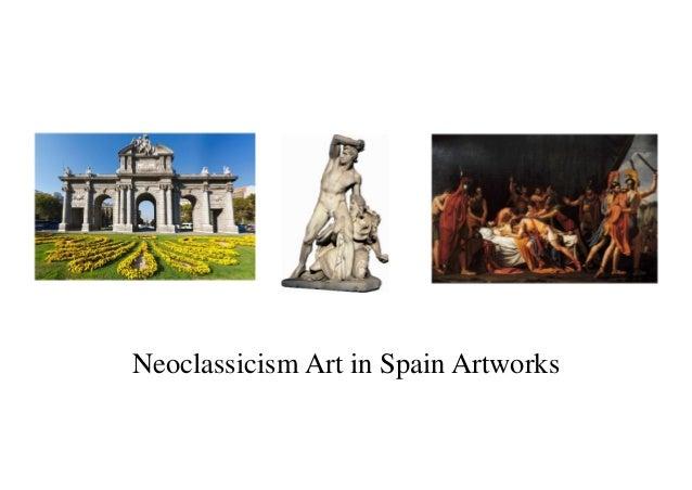 Neoclassicism Art in Spain Artworks