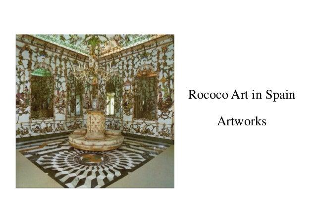 Artworks Rococo Art in Spain