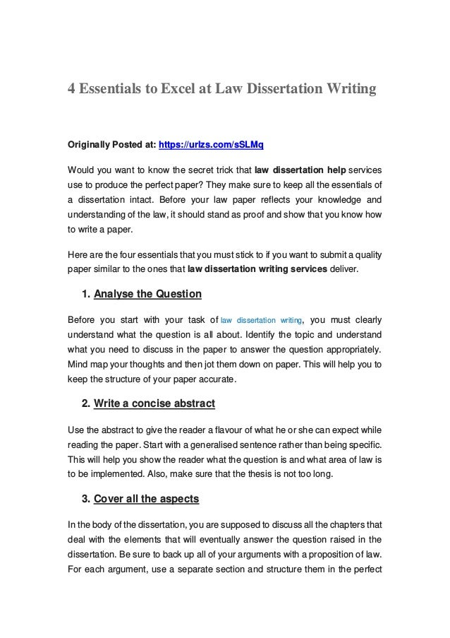 Writing a law dissertation ideas for argument essay