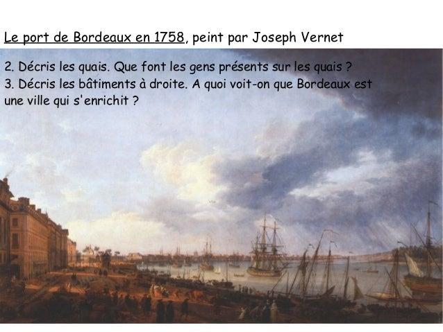 L 39 europe au xviii si cle - Joseph vernet le port de bordeaux ...