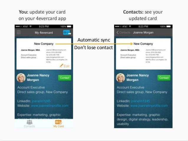 4evercard Your Digital Business Card