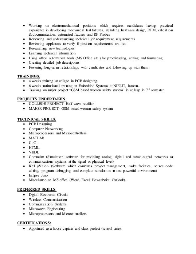 priyanka mahajan resume for ece 1 5 6 8