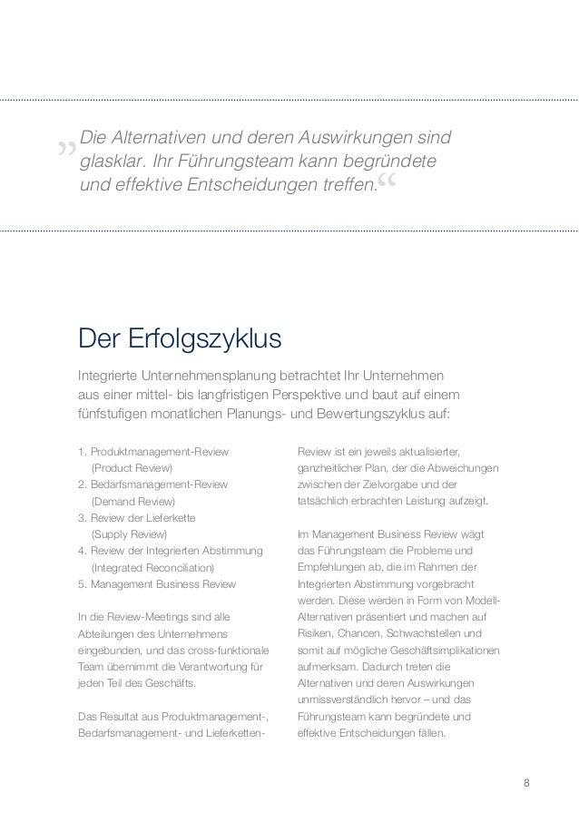 Integrierte Unternehmensplanung - IBP for High Performance - German