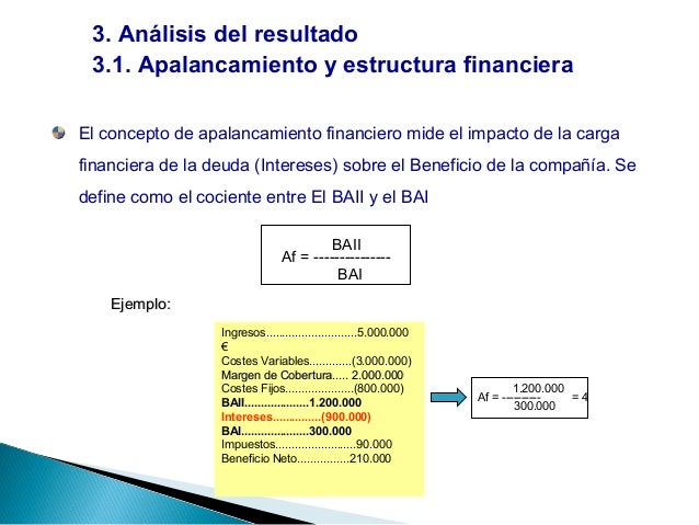 Analisis Financiero De La Empresa