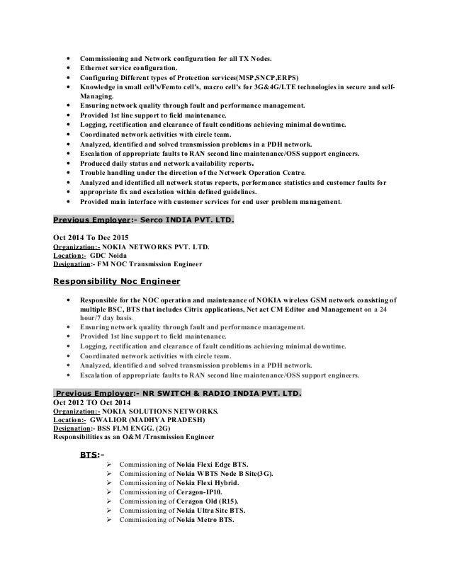 Resume Of Surajit SlideShare Rf Engineer LinkedIn Aploon Resume Of Surajit  SlideShare Rf Engineer LinkedIn Aploon  Rf Engineer Resume