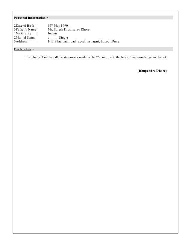 manual testing resume