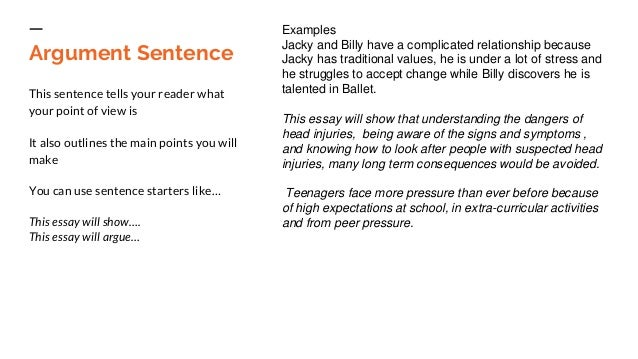 structure of write an essay economics