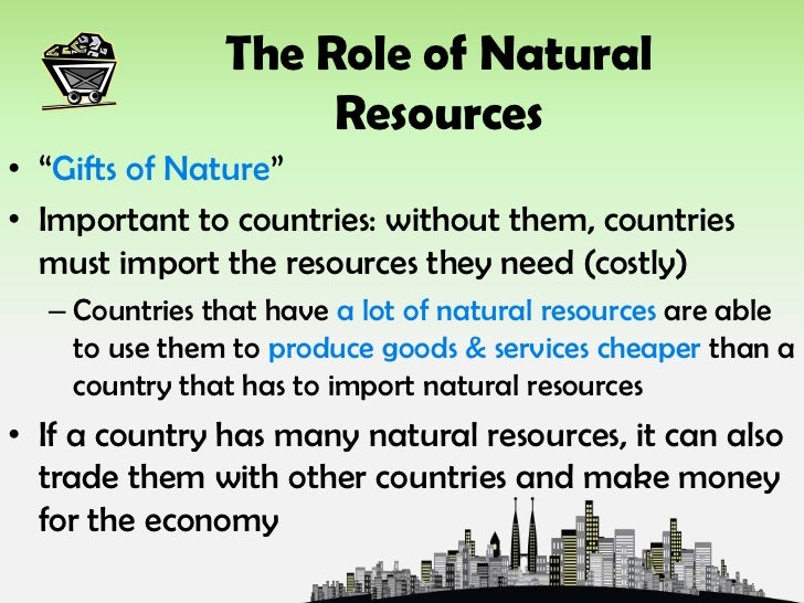 How Humans Use Natural Resources