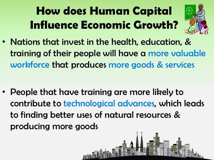 Four factors of economic growth.