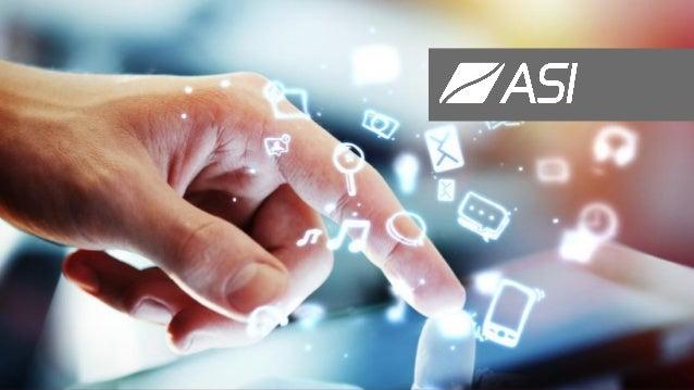ASI votre partenaire digital 2 Êtes-vous prêt pour le Social Business, l'Analytics, le Big Data, la Mobilité ? Sur l'ensem...