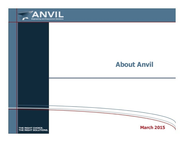About Anvil March 2015