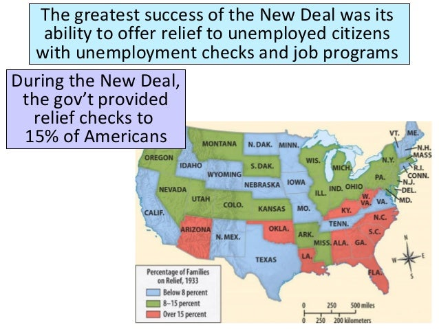 was the new deal a success