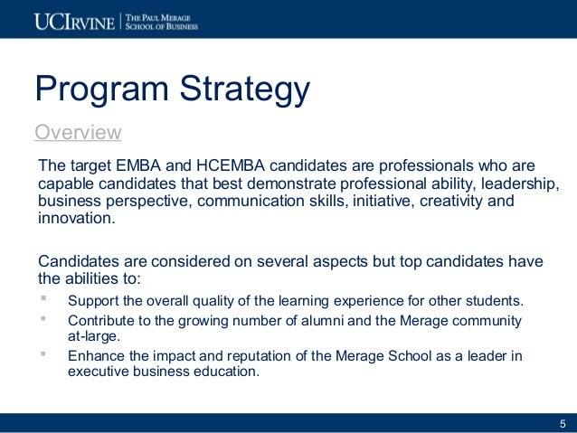 One-Year Executive MBA