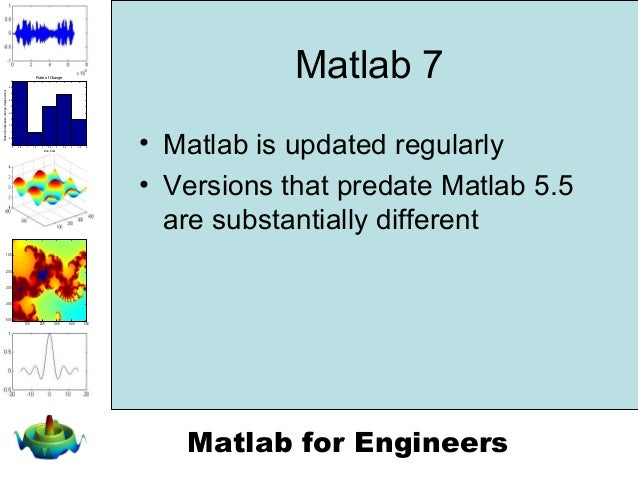 matlab 7 for engineers