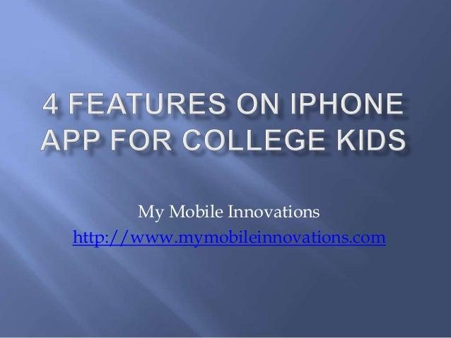 My Mobile Innovations http://www.mymobileinnovations.com