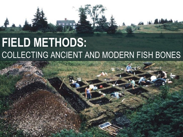 FIELD METHODS:COLLECTING ANCIENT AND MODERN FISH BONES
