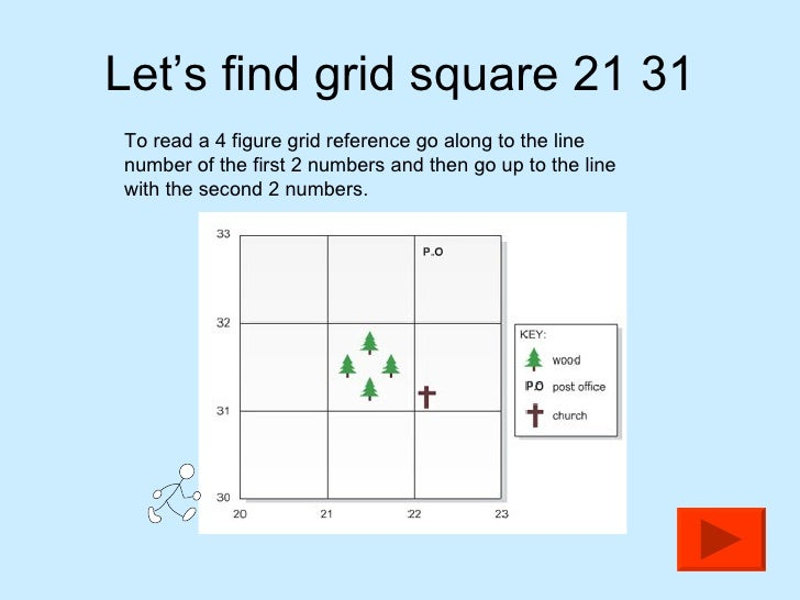 wrf how to see grid points map