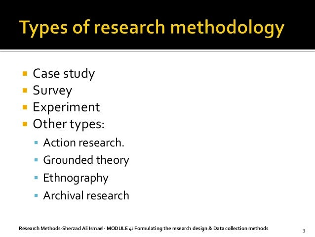 Thesis research methodology case study