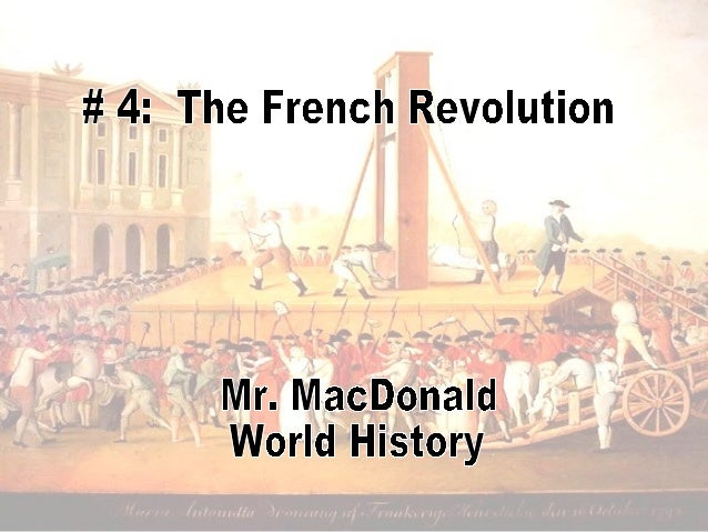 The French Revolution BeginsLearning Outcomes1. Identify key factors that ultimately ledto the start of the French Revolut...