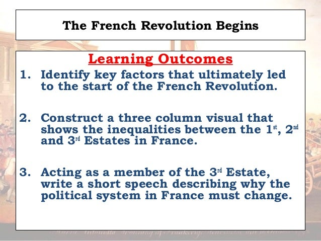 What are the short term causes of the French Revolution?