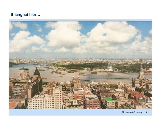 McKinsey & Company | 3Shanghai hier…