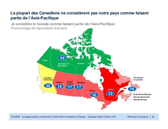McKinsey & Company | 42YukonColombie-BritanniqueAlberta ManitobaTerre-Neuveet LabradorTerritoires duNord-OuestNouveau-Brun...