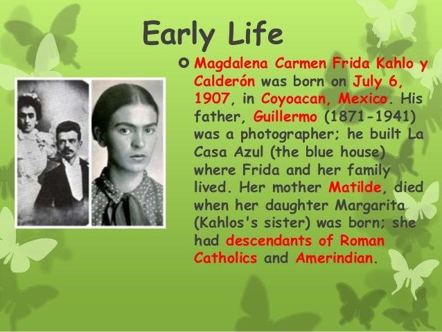 Frida kahlo Biography by Isabel