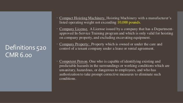 4 g rh slideshare net ri hoisting license study guide 1b hoisting license study guide