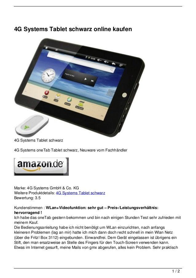 Tablet Online Kaufen : 4g systems tablet schwarz online kaufen ~ Watch28wear.com Haus und Dekorationen
