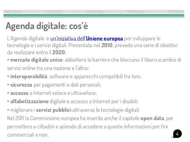 Agenda digitale: cos'èL'Agenda digitale è un'iniziativa dell'Unione europea per sviluppare letecnologie e i servizi digita...