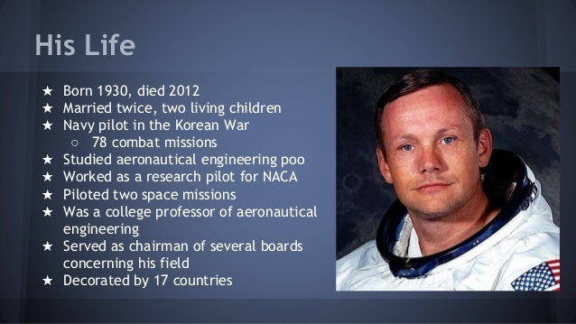 Neil Armstrong Google Presentation Example