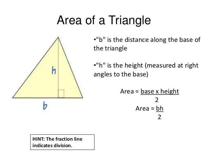 4 geometry area and perimeter area of a triangle ccuart Images