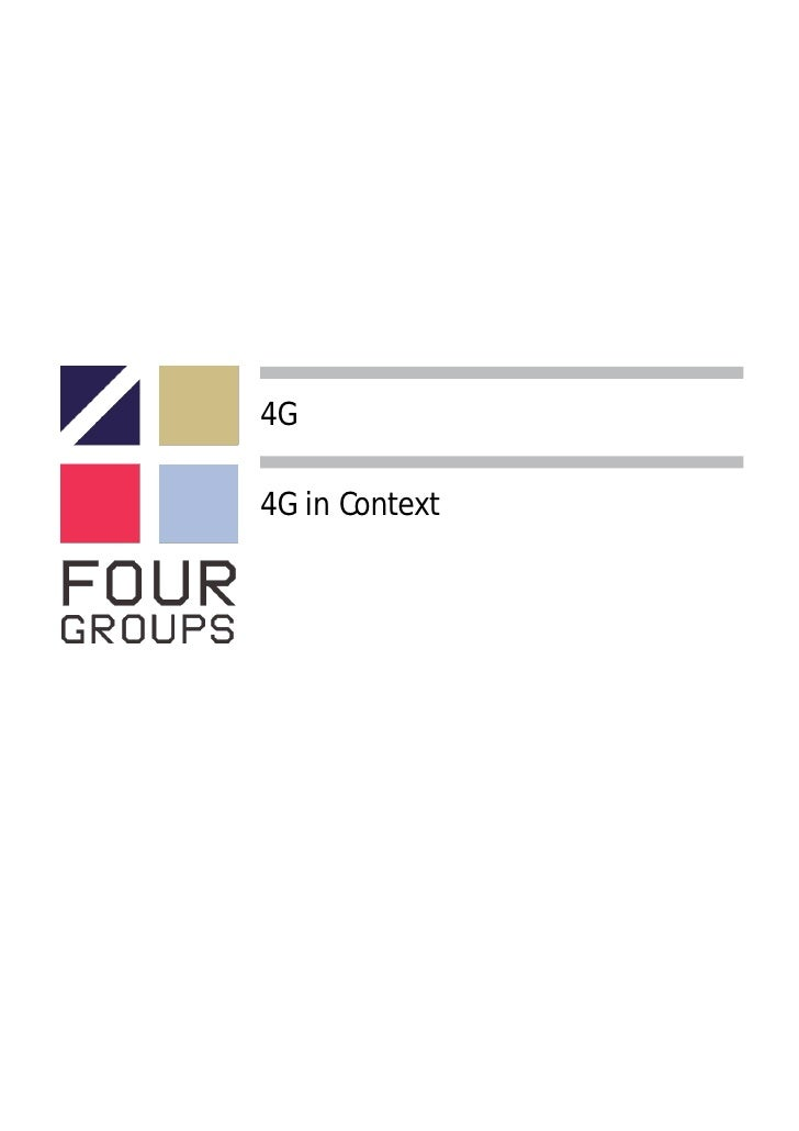 4G  4G in Context