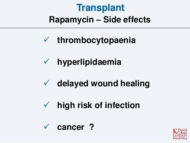 Tacrolimus Side Effects Long Term