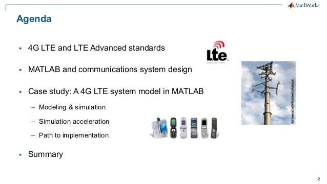 4g lte matlab Slide 2