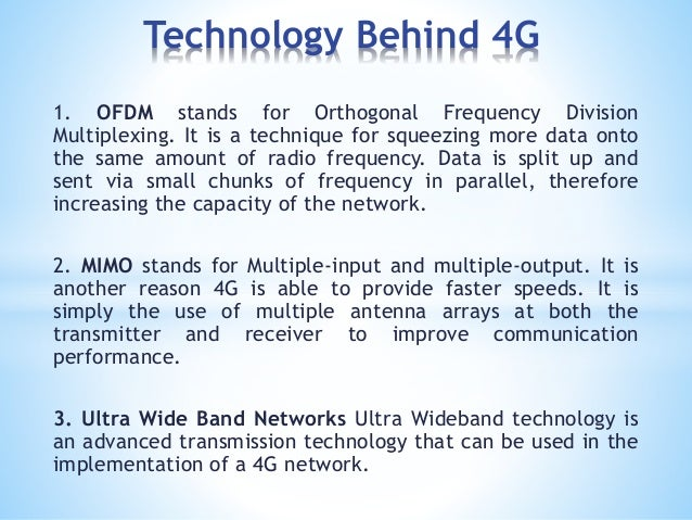 comparison between 3g and 4g technology pdf
