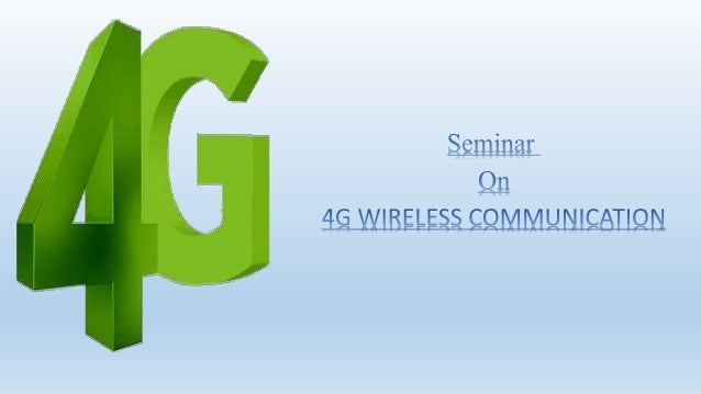 a seminar report on wireless communication A seminar report on smart card technology  microwave communication system  download wireless electricity followers.