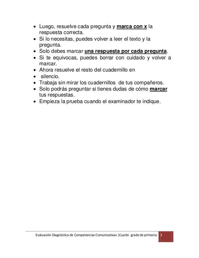 4° grado cuadernillo comunicación primaria. Slide 3