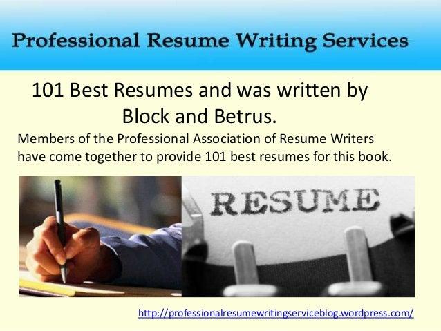... 5. 101 Best Resumes ...  Best Resume Books