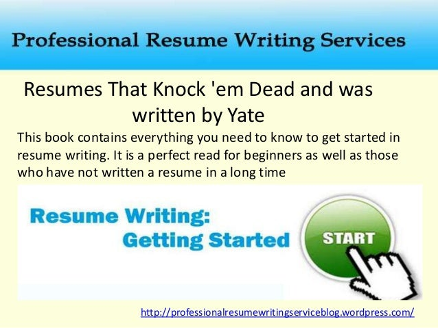 Resumes ...  Resume Books