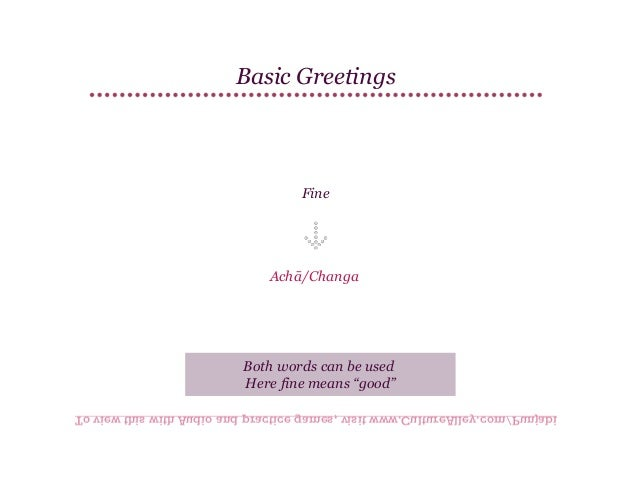 Basic punjabi lesson 4 greetings culturealleypunjabi 11 basic greetings m4hsunfo
