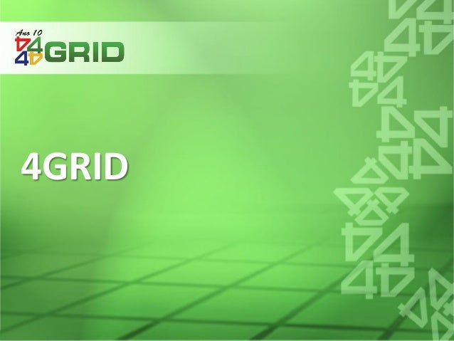 © 2014 4GRID Consultoria e Engenharia.. All rights reserved 4GRID