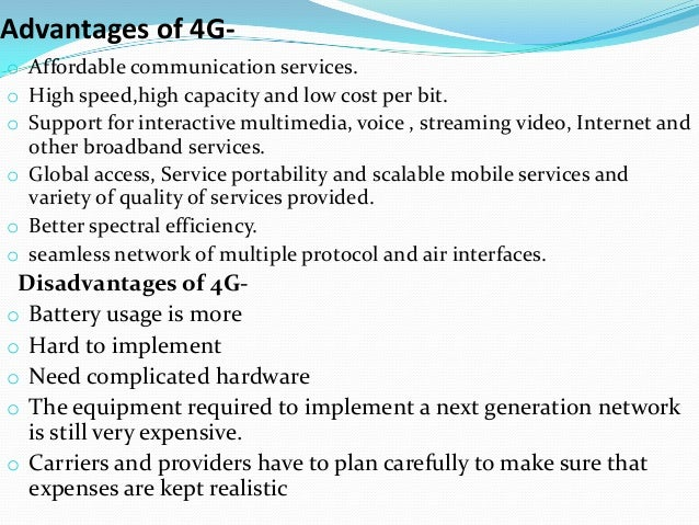 4g technology ppt 4g technology is meant to provide what is known as ultra-broadband access for mobile devices what are the 4g technology standards.