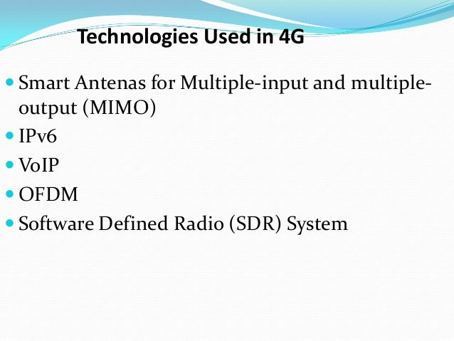 4 g technology Curious about the difference between 3g and 4g check out this guide for a non-technical, easy-to-understand explanation  3g and 4g: what's the difference  when used with 5g technology .