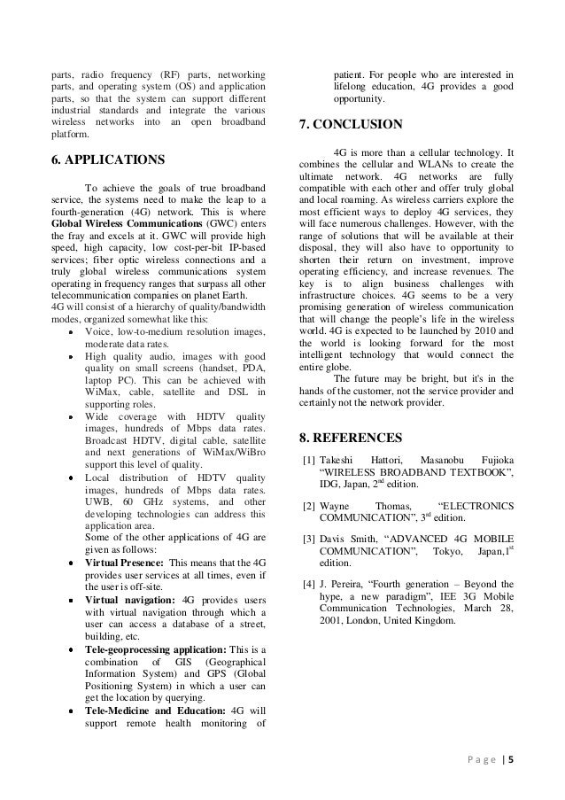 Research paper in operating system
