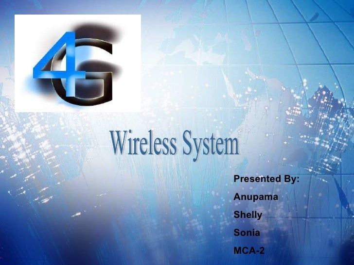 4g technology ppt presentation free download