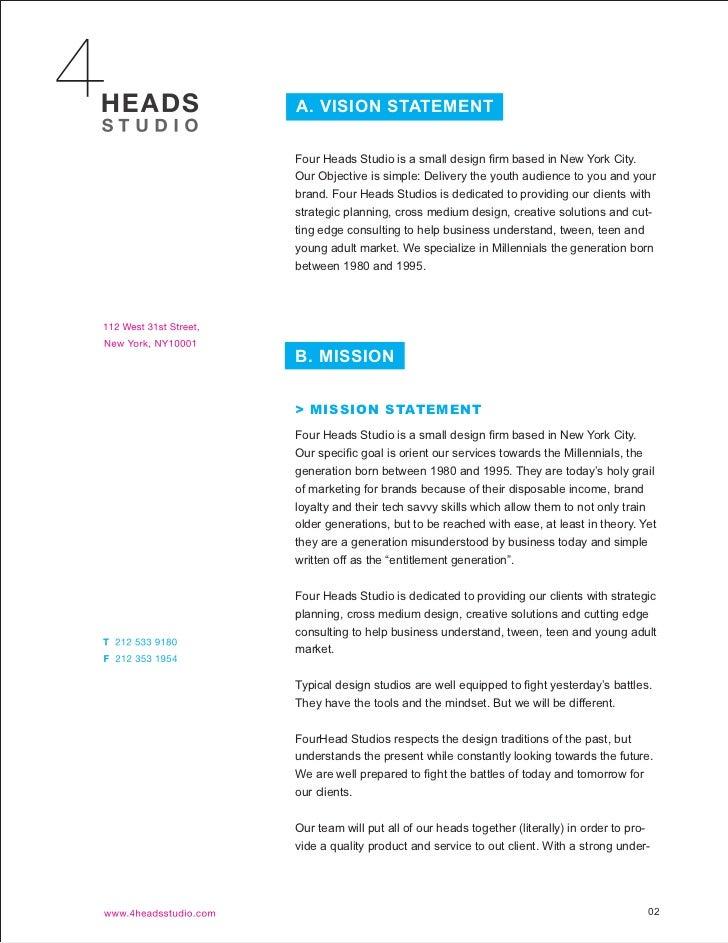 Multimedia studio business plan